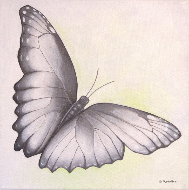 Spreading My Wings - original front