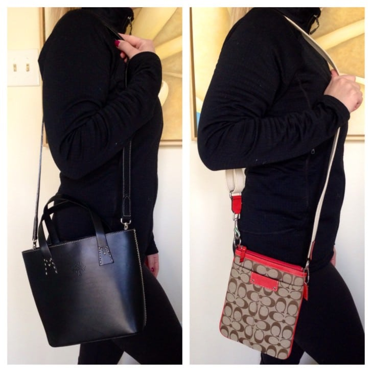 Mulberry and Coach bags