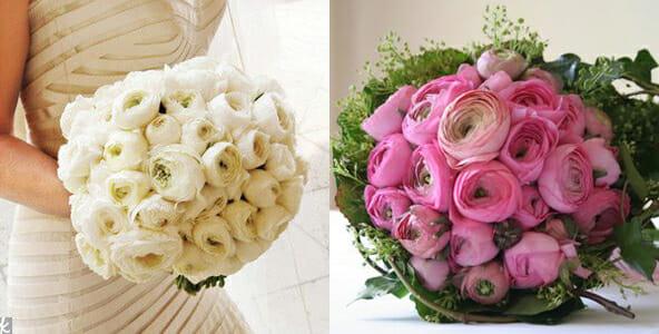 ranunculus bridal bouquets