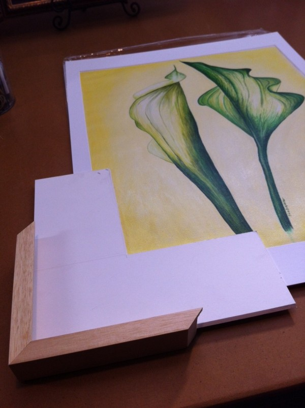 green callas at framer
