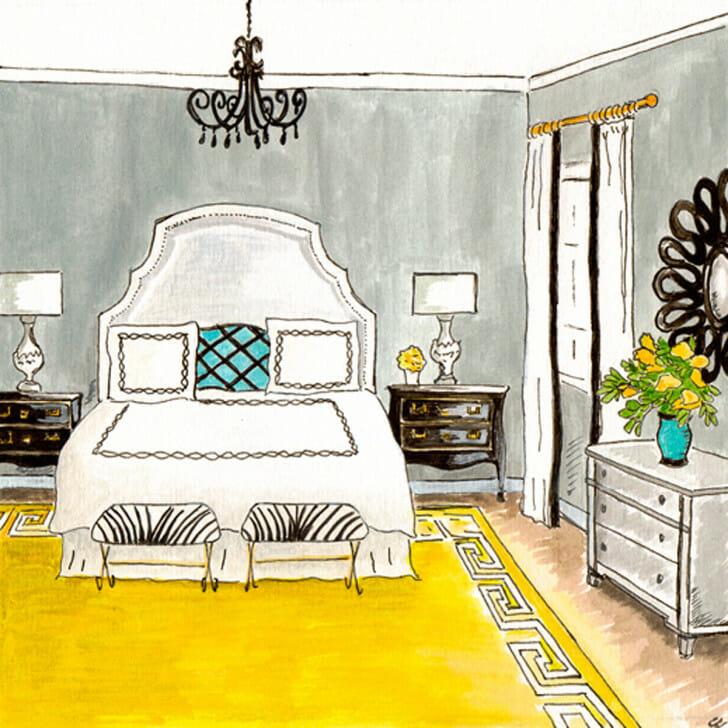 Glamour Girl Master Bedroom - original front