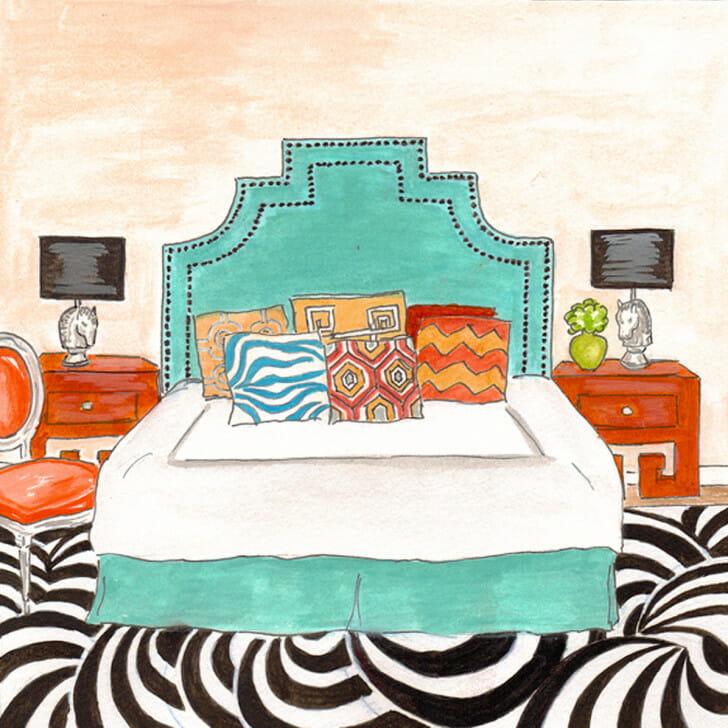 Happy Home Bedroom - original front