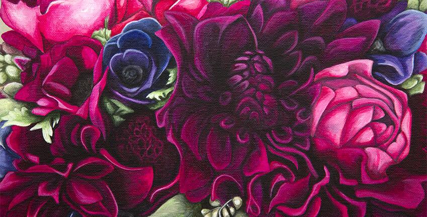Kate's Bridal Bouquet - slideshow