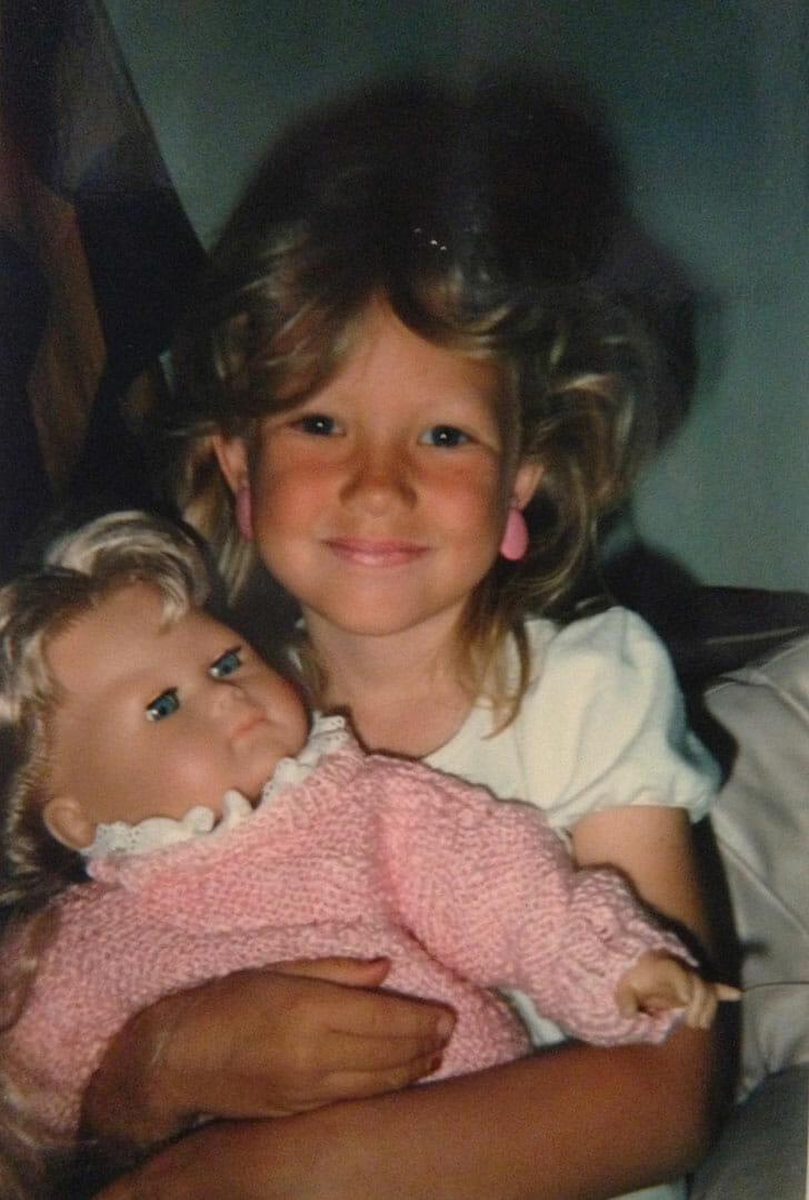 Erica in 1985