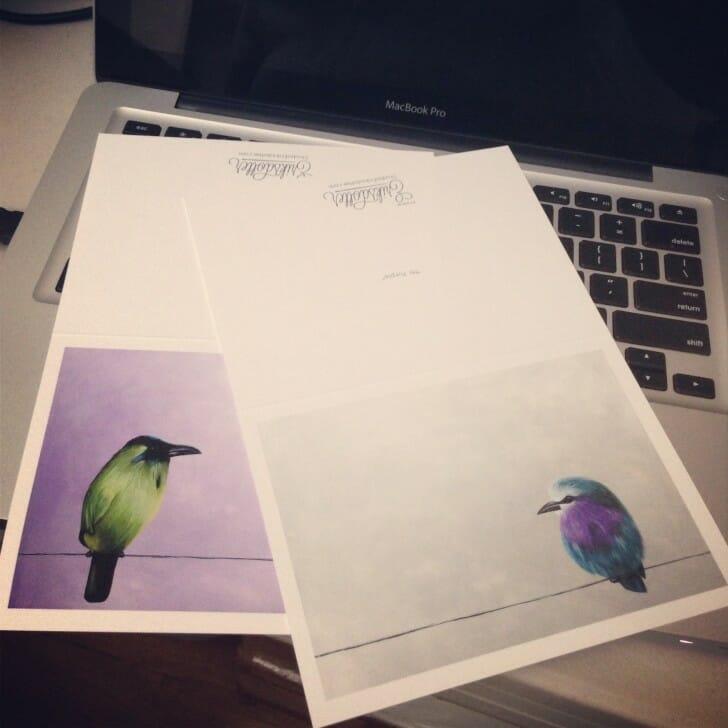 Birdies - notecards