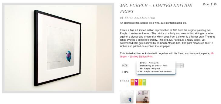Shop Product Overview - Mr. Purple