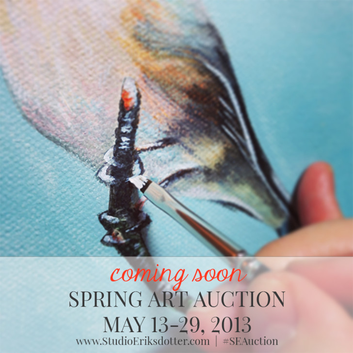 Spring Art Auction - May 13-29