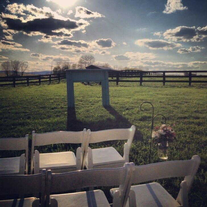 Courtney & Zack's wedding