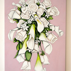 Suzanne's Bridal Bouquet - original