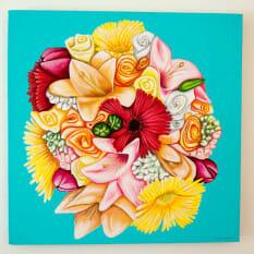 Amanda's Bridal Bouquet - original
