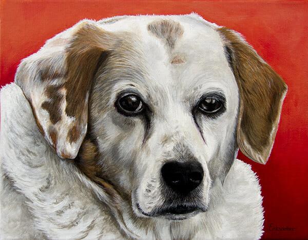 Luke's Portrait - original pet portrait