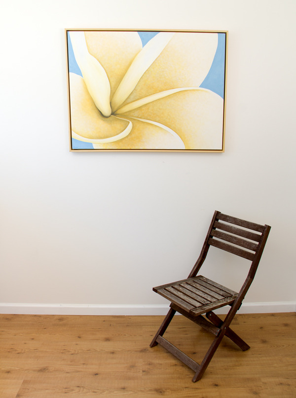 White Twist - original with chair