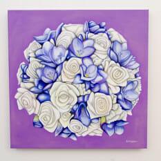 Diana's Bridal Bouquet - original