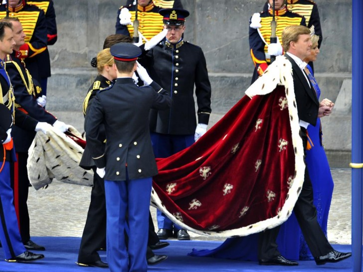the new king of the Netherlands - King Willem Alexander and Queen Maxima. Photo P.P.E.