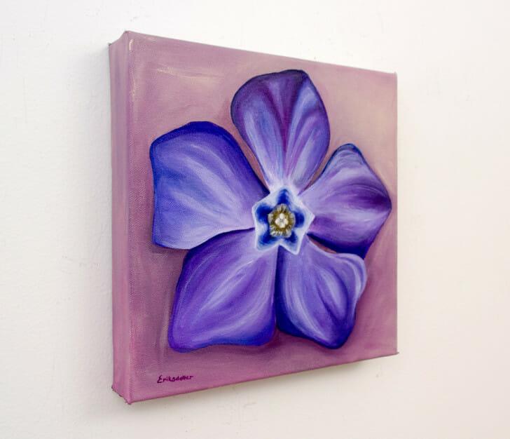 Periwink-wink - Spring Art Auction 2013, left