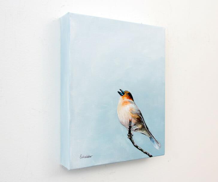 Scottish Songbird - Spring Art Auction 2013, left