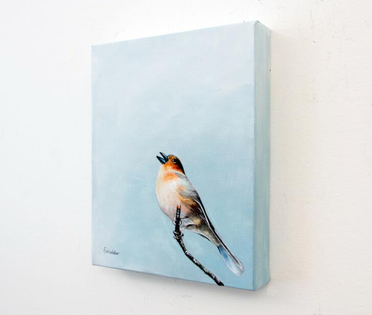 Scottish Songbird - Spring Art Auction 2013, right