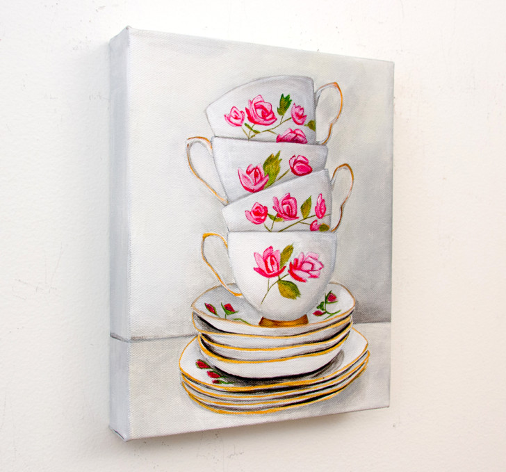 Afternoon Tea - Spring Art Auction 2013, front