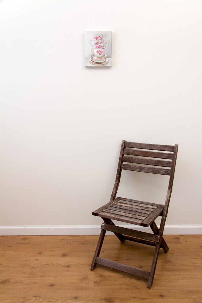 Afternoon Tea - Spring Art Auction 2013, with chair
