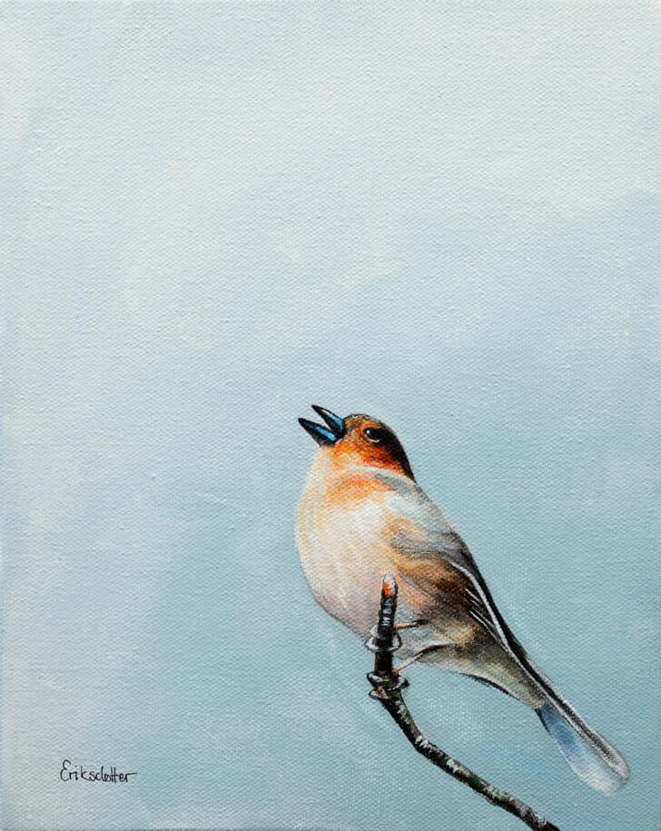 Scottish Songbird - Spring Art Auction 2013, front