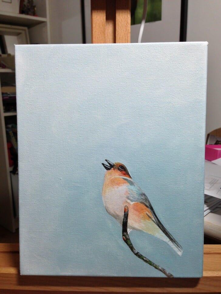 Scottish Songbird in progress
