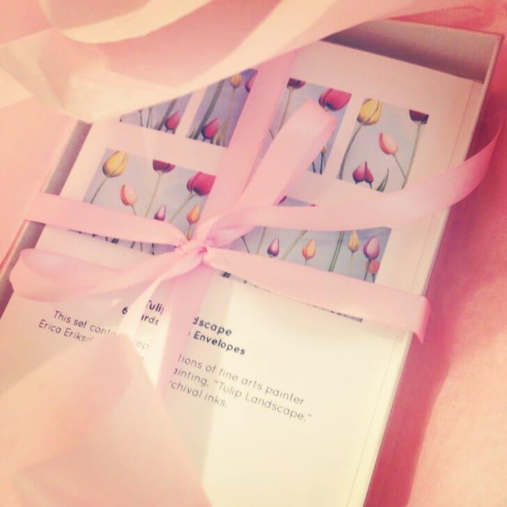 Tulip Landscape - Notecard Set