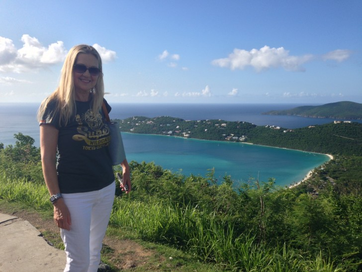 Magen's Bay and Mom