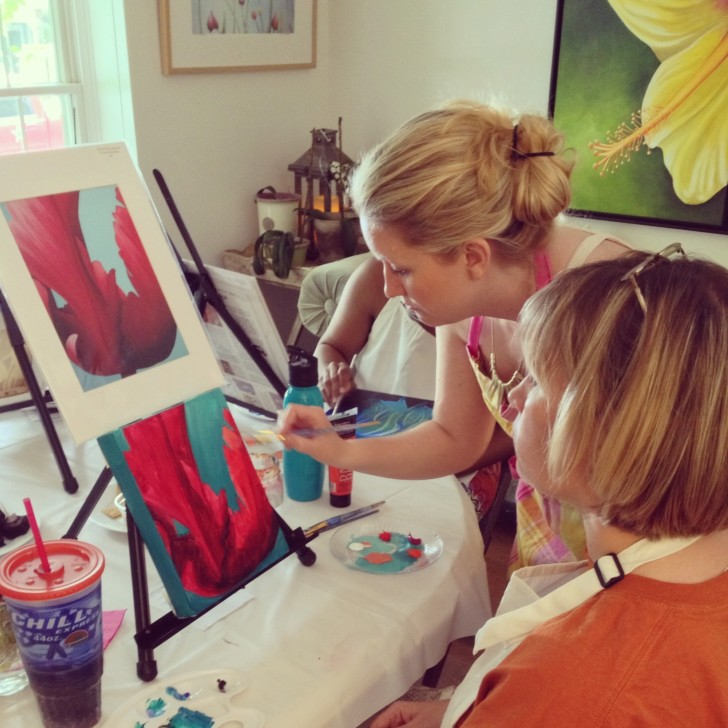 Stacey's Cocktails & Canvases June 3, 2013