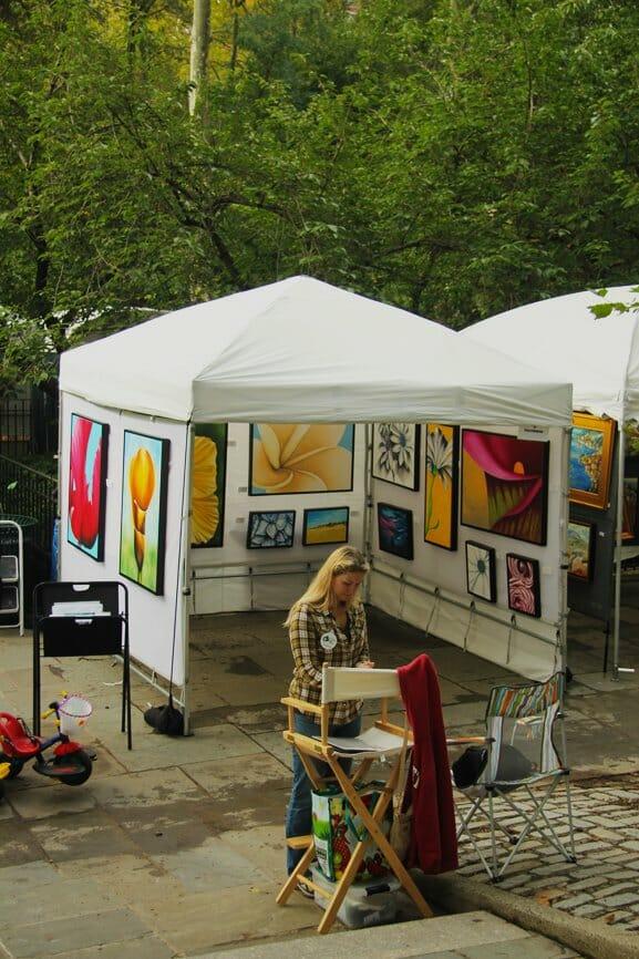 Grace Gracie Square Manhattan Art ShowSquare Manhattan 2011