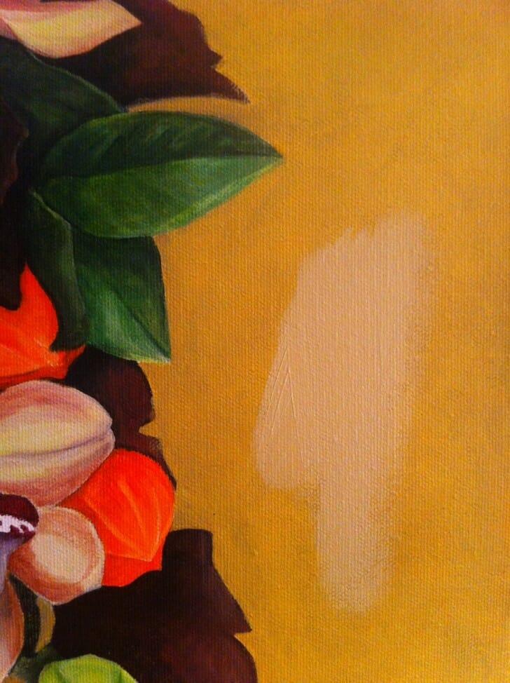 Denise's Bridal Bouquet - new background color