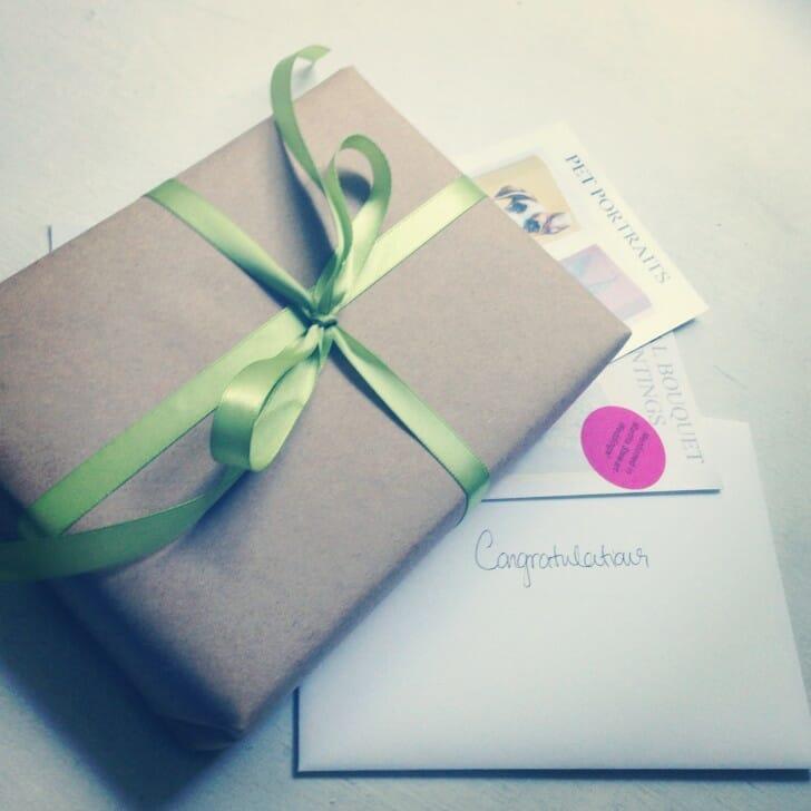 giveaway winner notecard set aug 2013