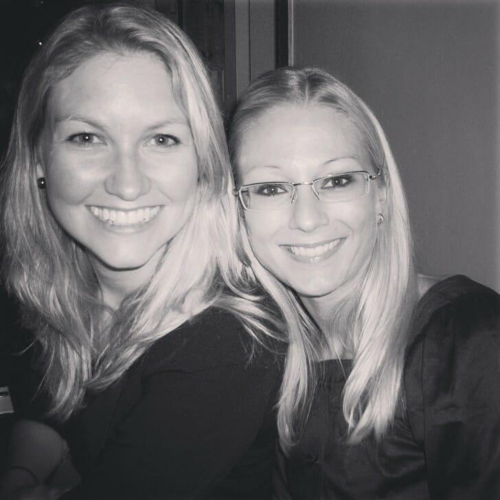 Erica and Linn 2008
