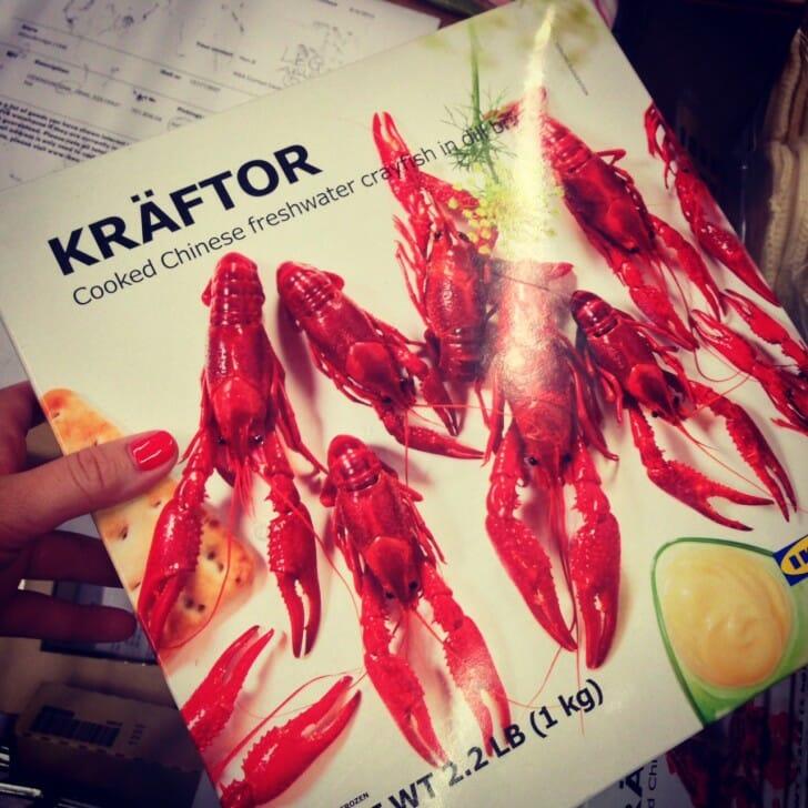 Ikea Crawfish Aug 2013
