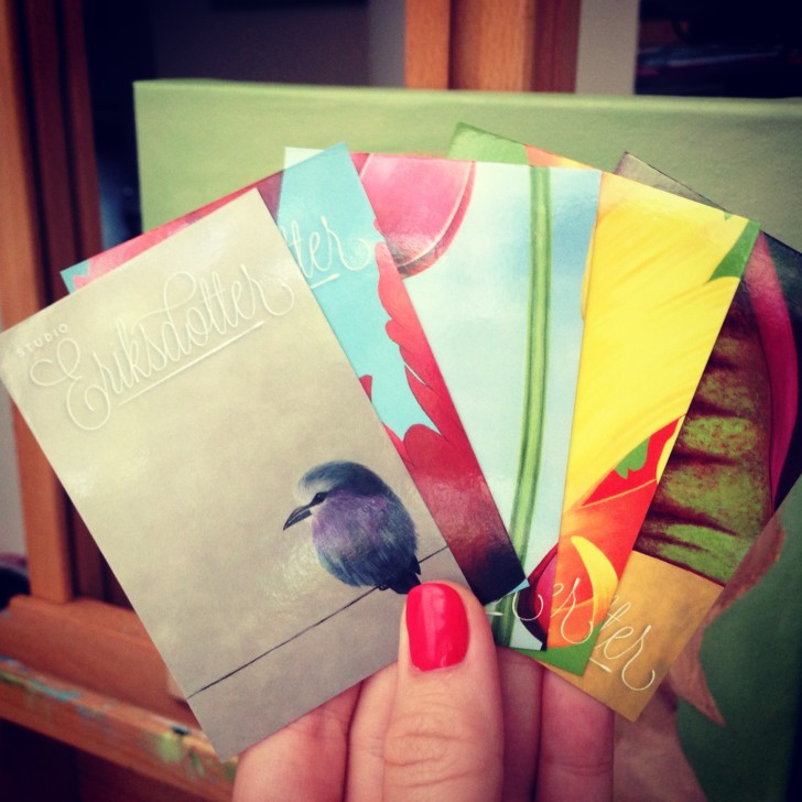 Pick a card - new business cards by CooperHouse