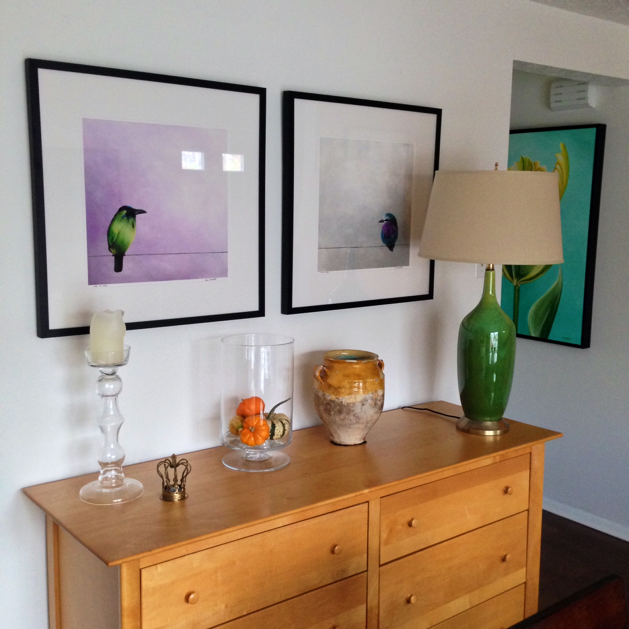Limited editions by Erica Eriksdotter in the living room