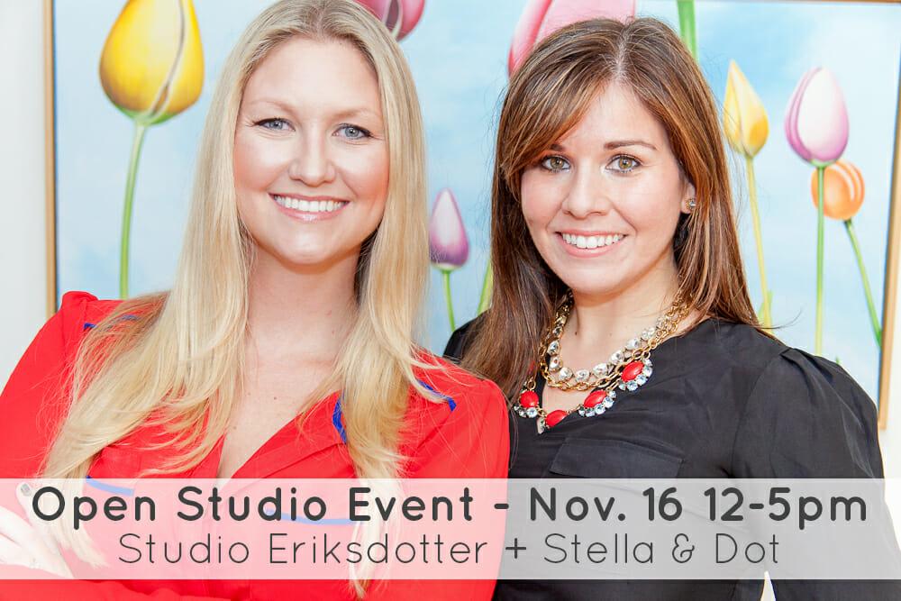 Erica Eriksdotter and Lauren Tracey Riner - Open Studio Event 2013