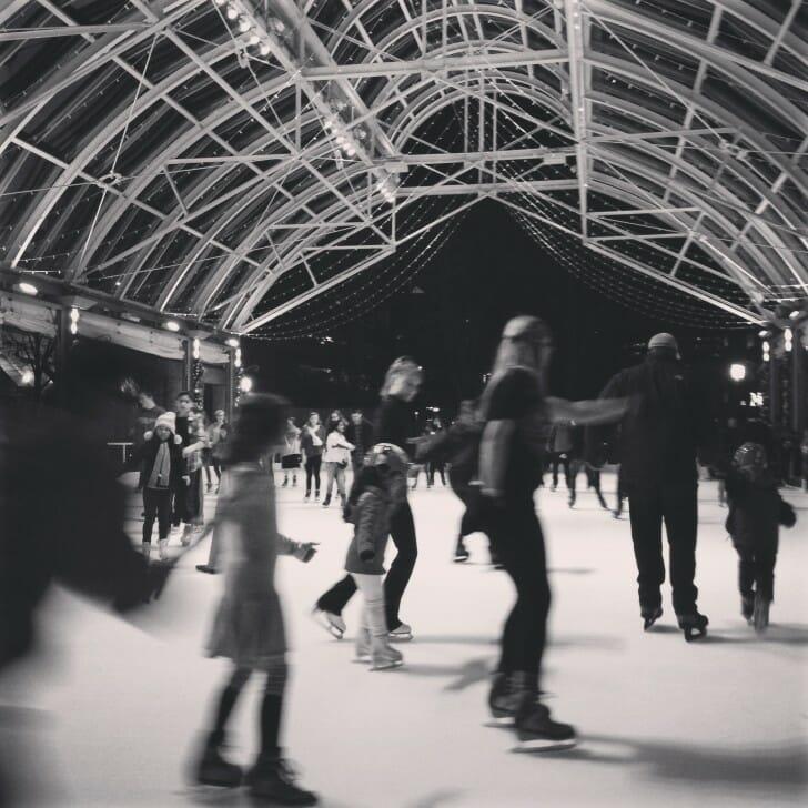 ice rink in Reston