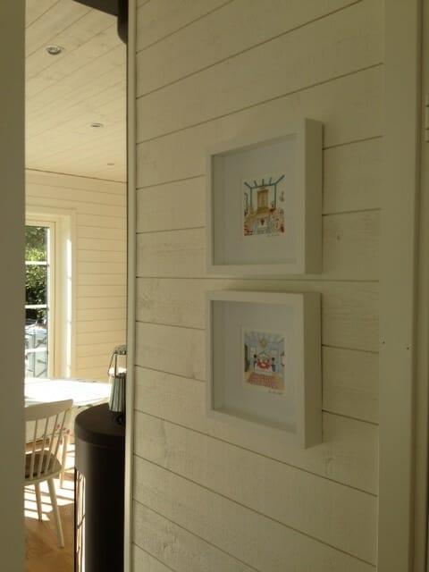 Customer photo of framed Mamma Mia prints