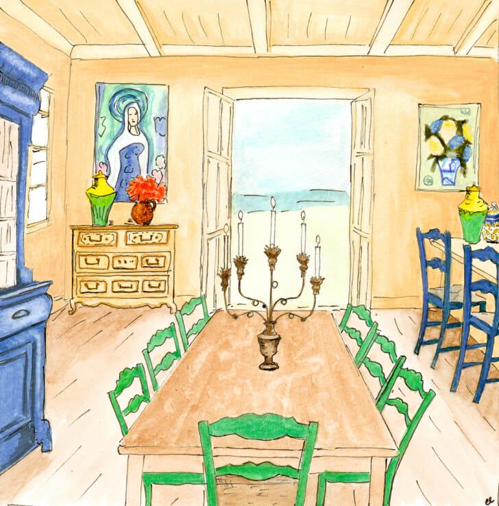 Mamma Mia Diningroom - original front