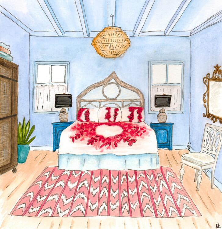 Mamma Mia Master Bedroom