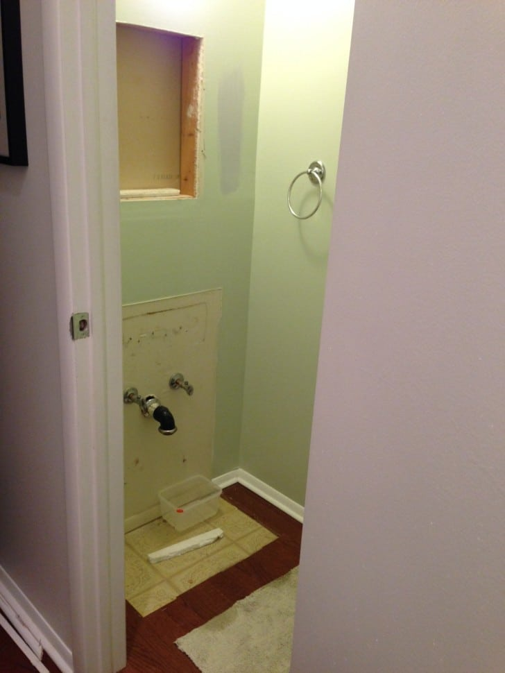 Powderroom renovation