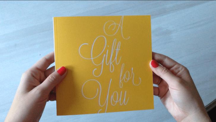 A Gift for You - Studio Eriksdotter gift card book