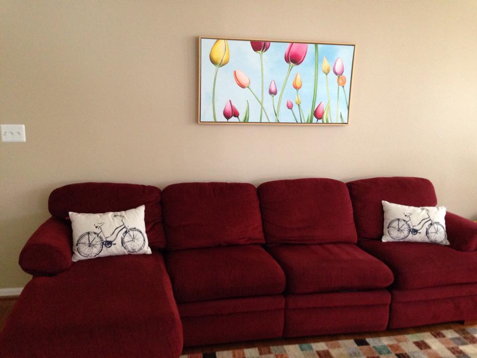 Tulip Landscape by Erica Eriksdotter, customer photo