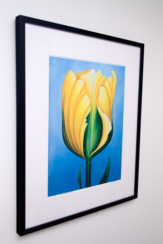 Unwavering Tulip - Yellow, limited edition by Erica Eriksdotter
