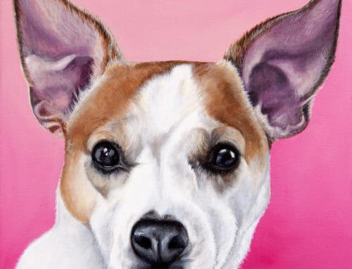 Original Painting: Olive's Portrait