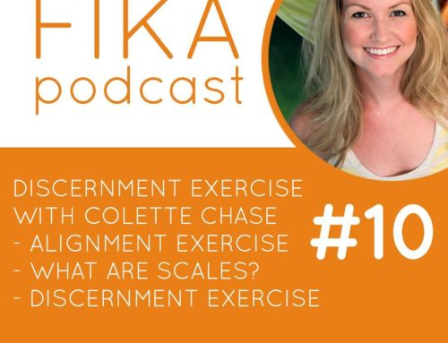 010 – Discernment Exercise with Colette Chase